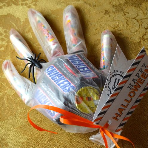 emballage bonbon gant