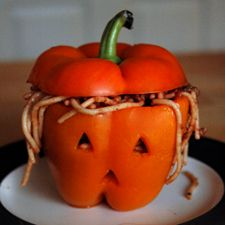 souper halloween poivron