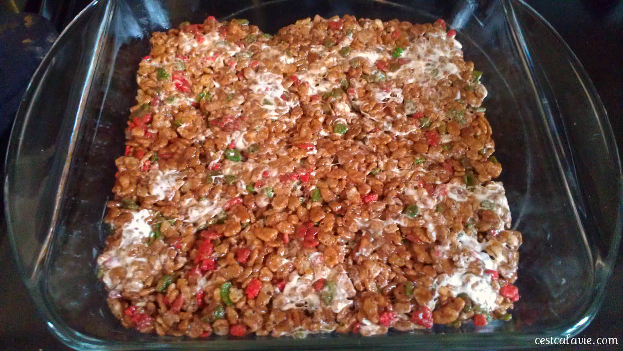recette rice krispies noel