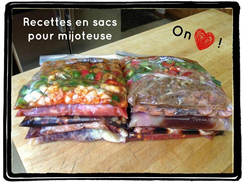 Recettes en sacs pour mijoteuse c 39 est a la vie - Plats cuisines sous vide pour restaurant ...