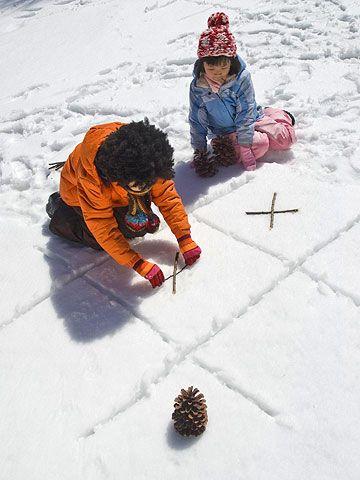 activités neige enfant