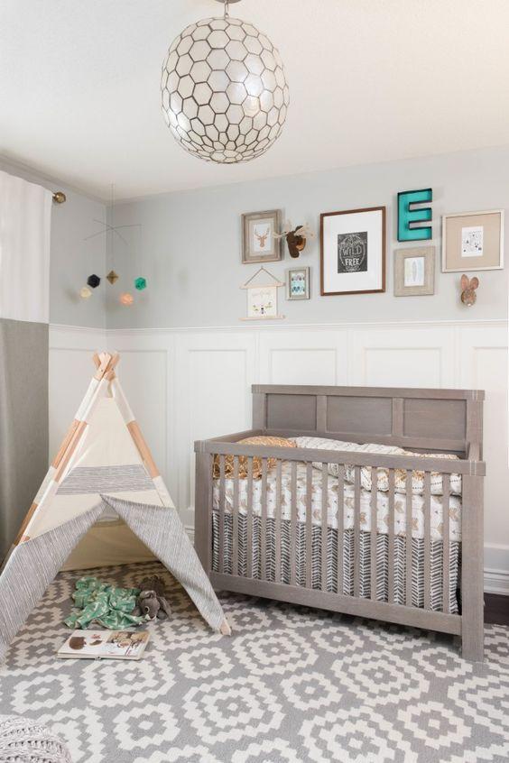 Idee Deco Chambre Garcon Kaki : 10 idées pour une chambre de bébé unisexe  Cest ça la vie