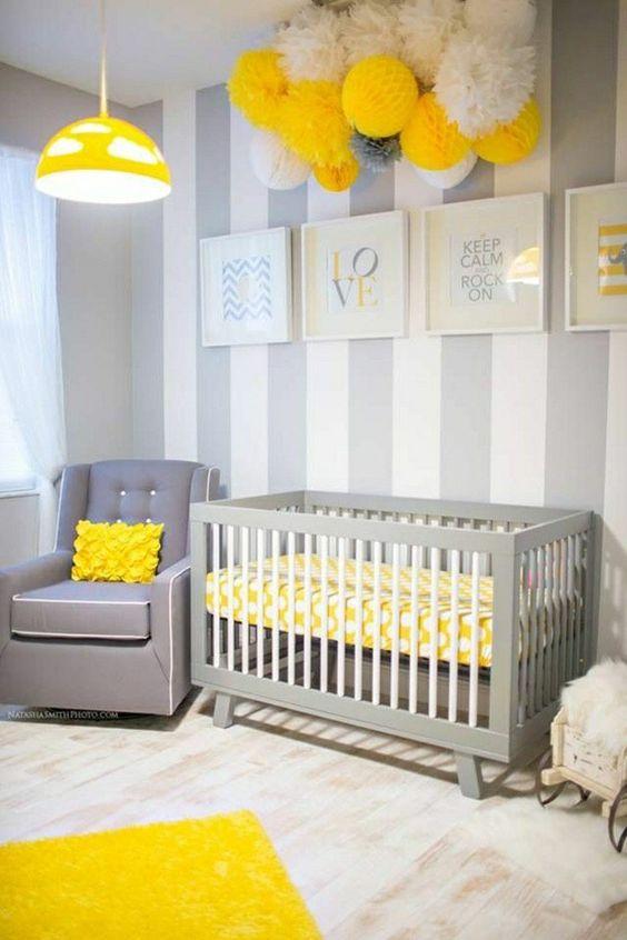 Stickers Salle De Bain Pas Cher : 10 idées pour une chambre de bébé unisexe  Cest ça la vie