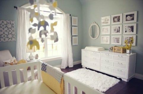 10 idées pour une chambre de bébé unisexe - C'est ça la vie
