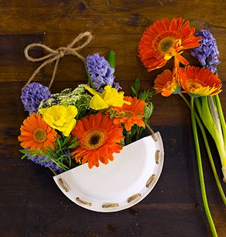 cadeau panier fleurs
