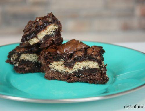 Recette de brownies s'mores