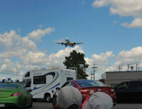 Des avions plein le ciel!