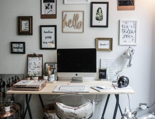 Des décorations de bureaux inspirantes