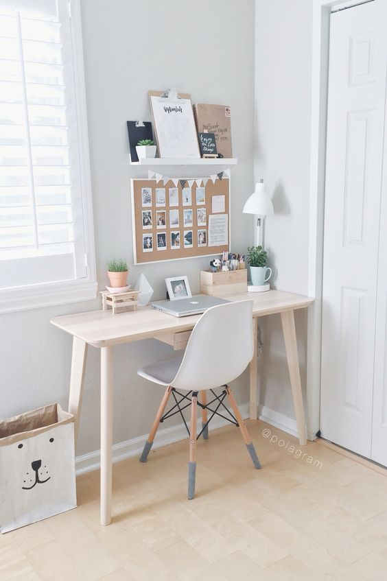 des d corations de bureaux inspirantes id es d cos pour. Black Bedroom Furniture Sets. Home Design Ideas