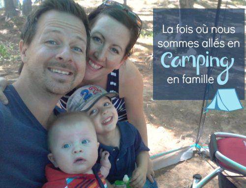 Séjour de camping en famille