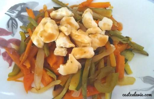 Recette de poutine aux légumes