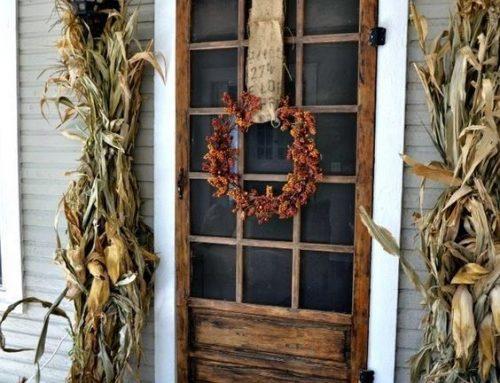 Idées de décorations extérieures pour l'automne