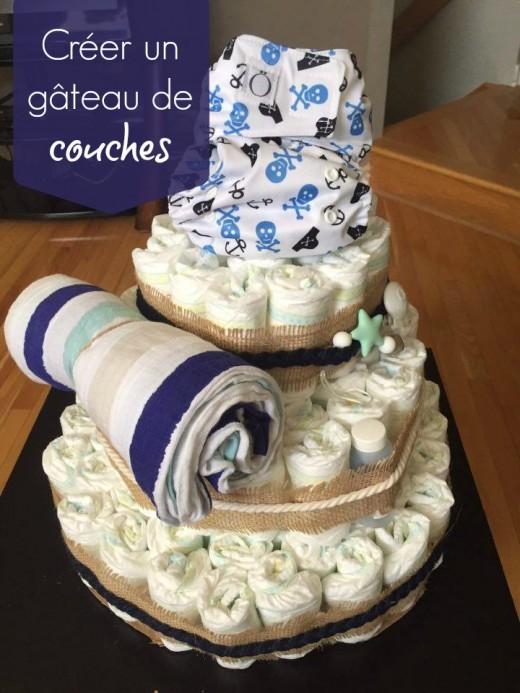 comment réaliser un gâteau de couches
