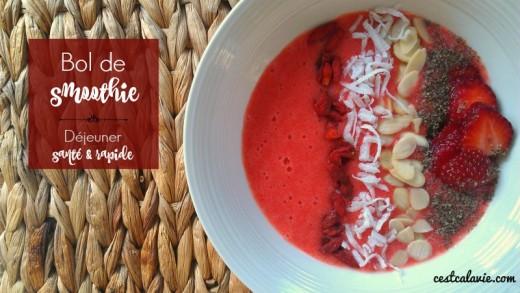 recettes de smoothie bowl