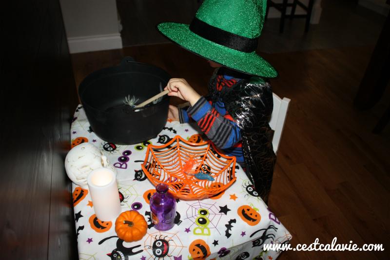 activité simple halloween pour enfant