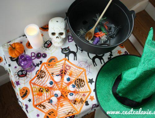 Activité d'Halloween pour enfant
