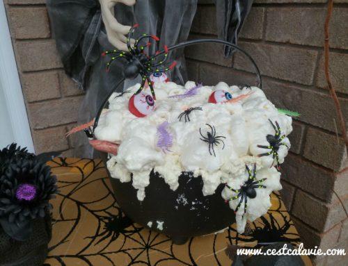 Idée de décoration extérieure pour l'Halloween