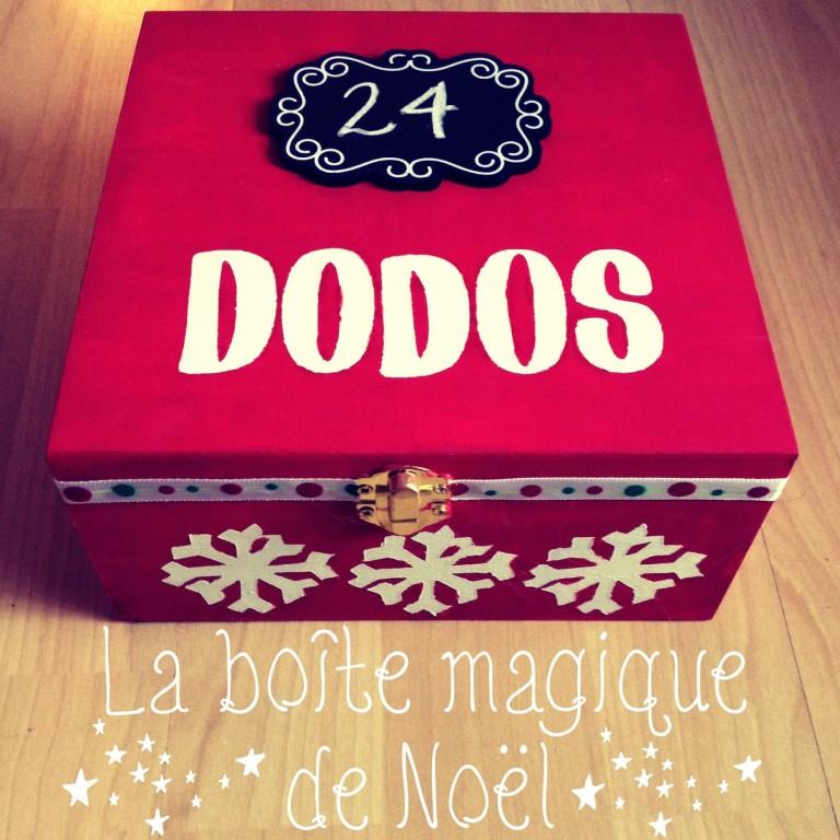 boîte magique de noël