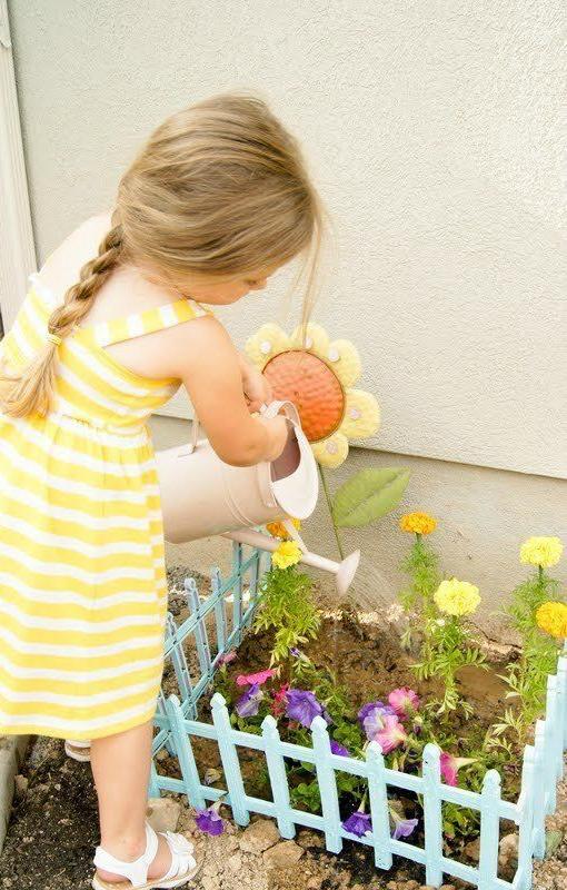 créer un jardin pour les enfants
