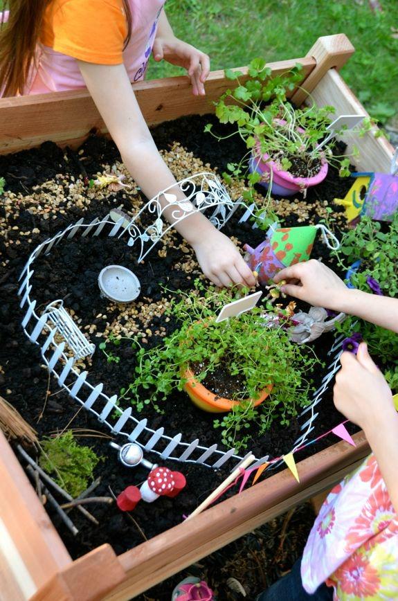 comment faire un jardin pour enfant