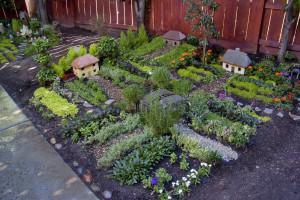 idée de jardin pour enfant