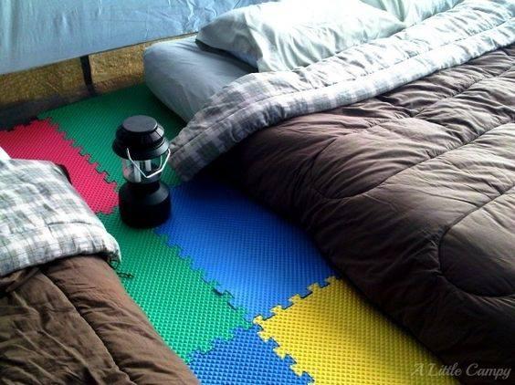 truc de camping pour la tente