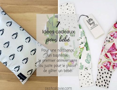 Idées-cadeaux pour bébé