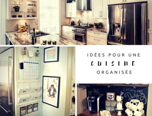 Idées pour une cuisine organisée