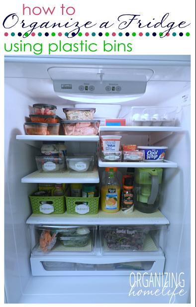 truc pour organiser le frigo