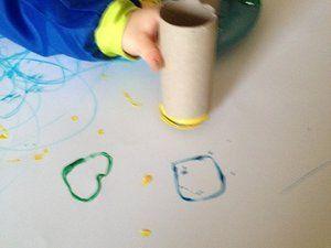 Tampon peinture enfant
