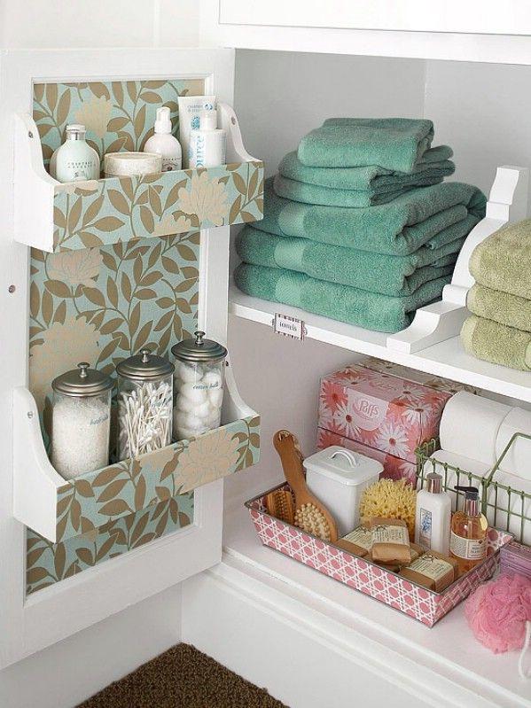 rangement meuble lavabo salle de bain