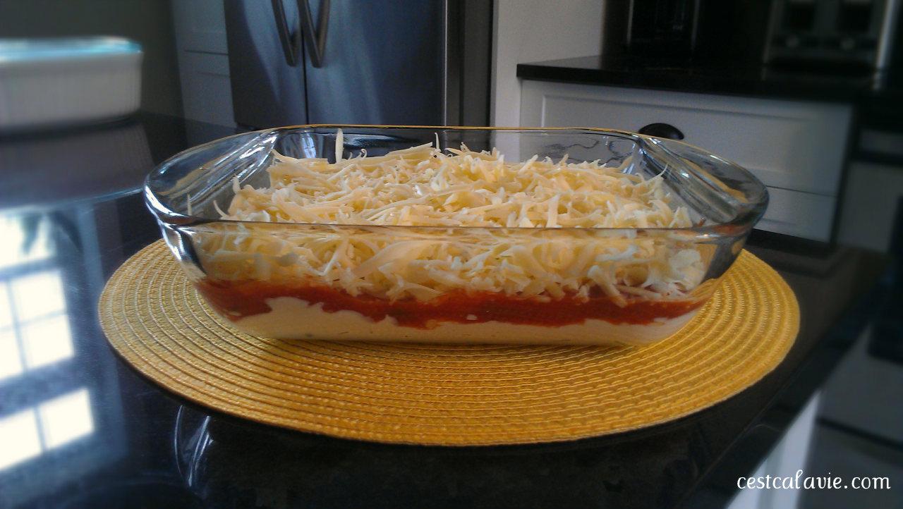 recette salsa étagée
