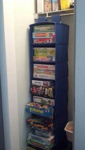 rangement placard jeux