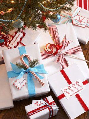 emballage cadeau ruban sucrerie