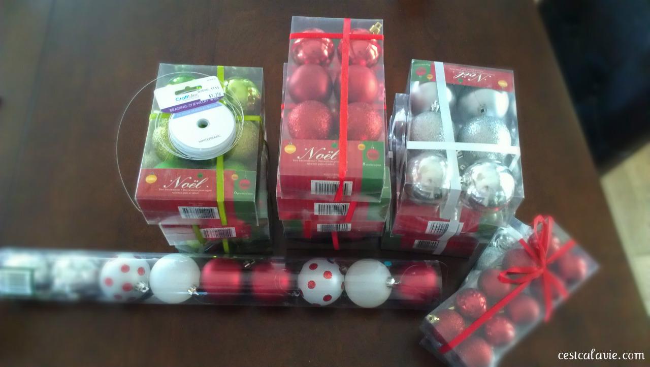 matériel guirlande boules