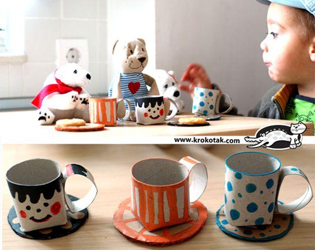 bricolage tasse thé