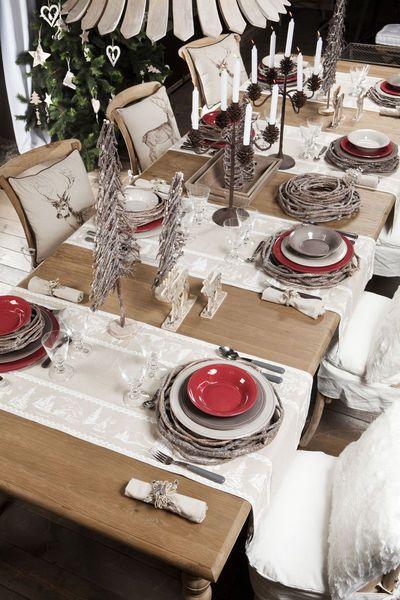 table noël rustique