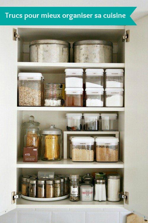 trucs pour mieux organiser sa cuisine c 39 est a la vie. Black Bedroom Furniture Sets. Home Design Ideas