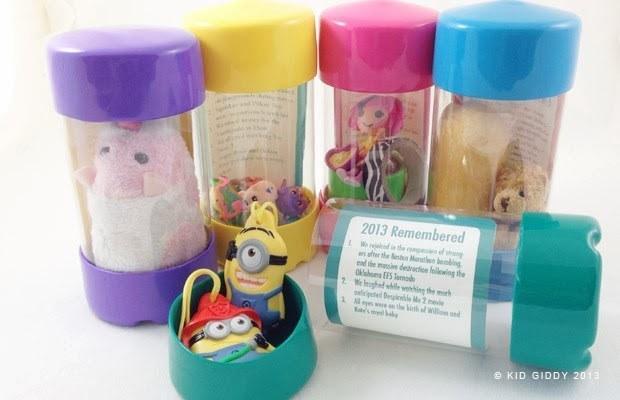 capsules souvenir enfant