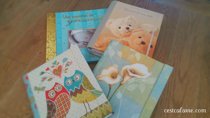 livres souvenir bébé