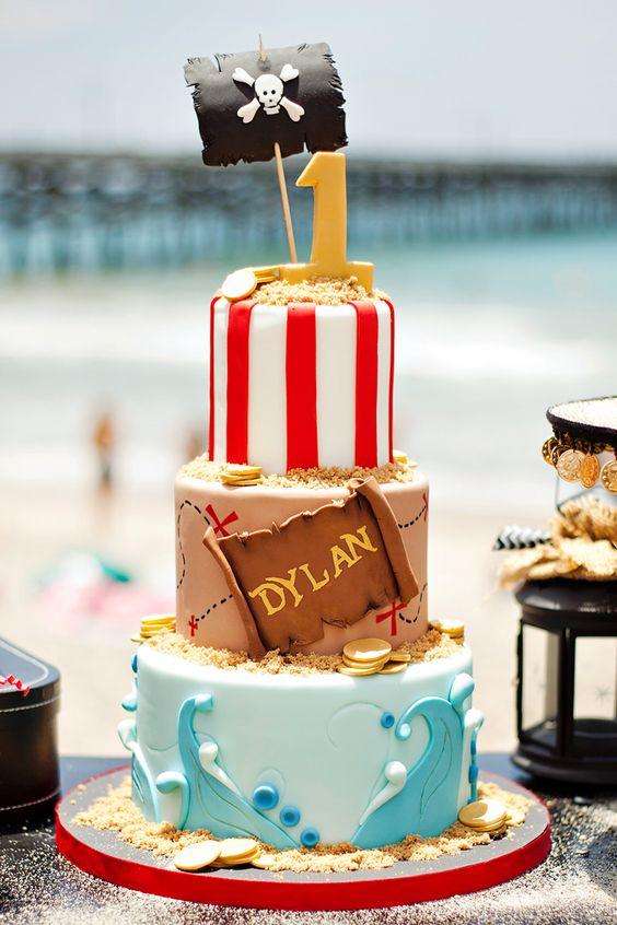 idée gâteau pirate