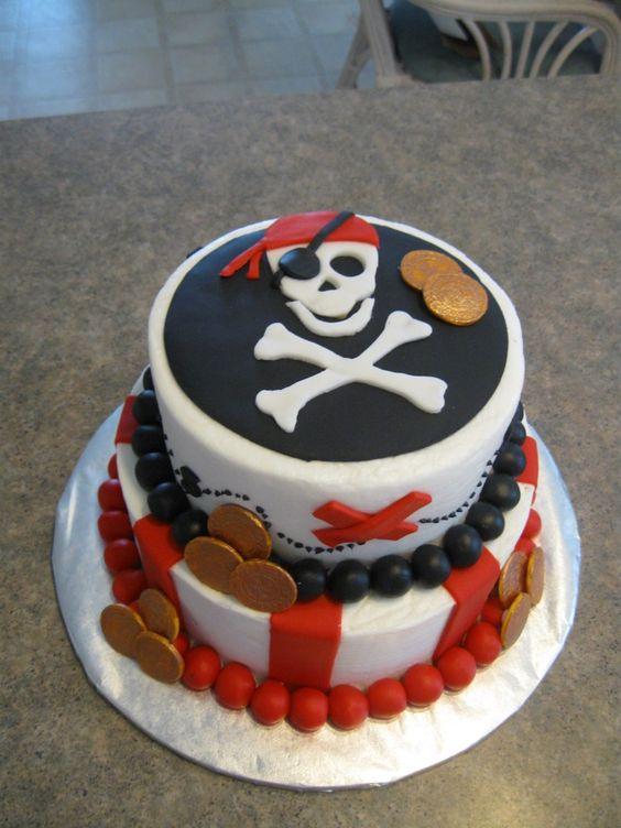 idée gâteau pirate enfant