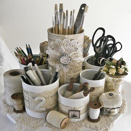idée recycler cannes de conserve