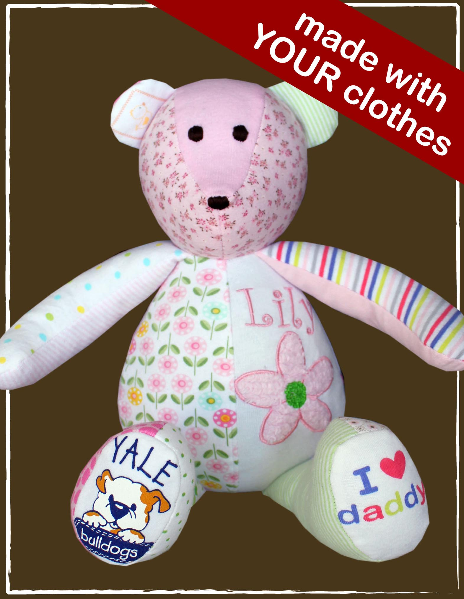 pyjama de bébé transformé toutou