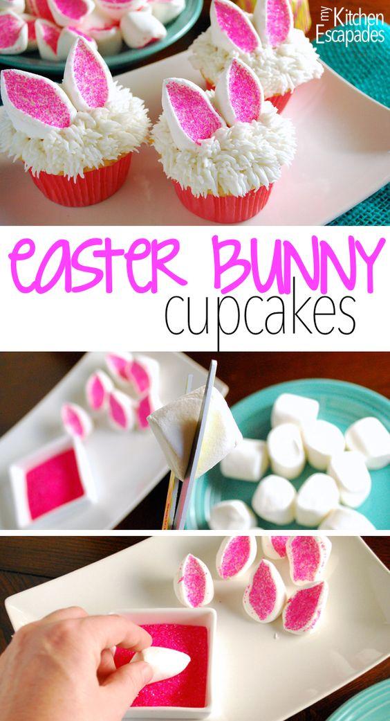 recette cupcakes pâques
