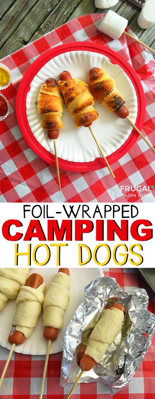 idées soupers camping