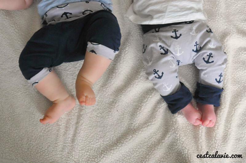 pantalons évolutifs pour enfant