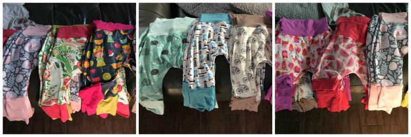 pantalon évolutif pour bébé