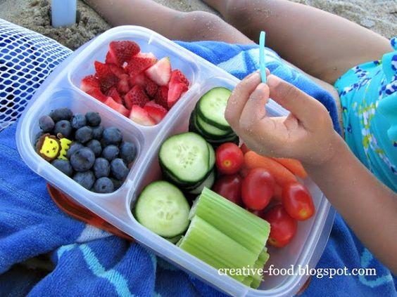 repas facile plage