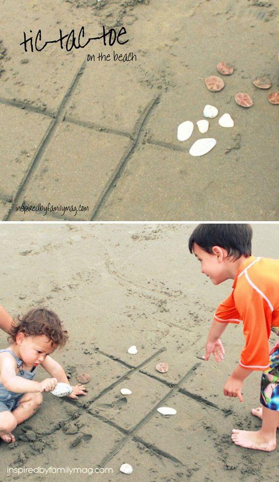 jeux enfant plage